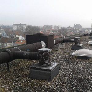 Toiture terrasse  Marcq en Baroeul La Peinture noire frquemmenthellip
