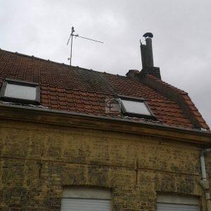 Maison  Tourcoing  tuyaux de chemine en fibro cimenthellip