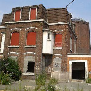Anciens bureaux Transpole rue de lUnion  Tourcoing Le terrainhellip
